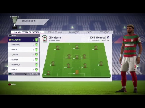 CS Maritimo eSports x EyeShieldGaming