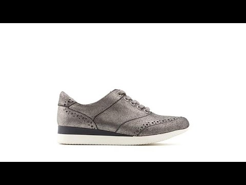 Naturalizer Jimi Sneaker Athleisure - YouTube 267afc9b415