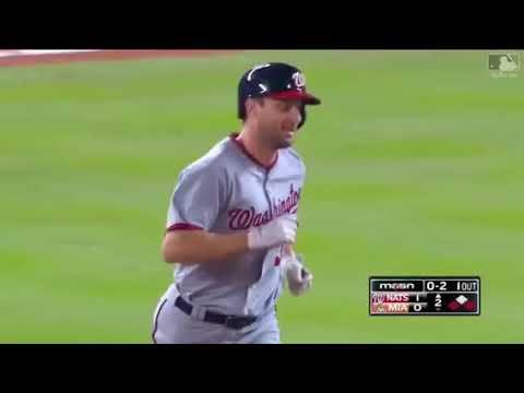 Max Scherzer First Career Home Run