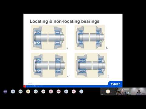 SKF Australasia Knowledge share | on-demand webinars | Bearing damage modes and classifications