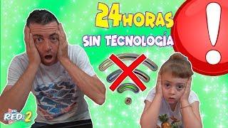 24 Horas SIN TECNOLOGÍA - NOS QUEDAMOS SIN WIFI! Enreda2