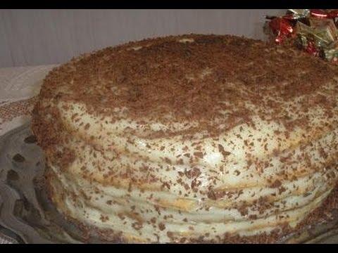рецепт торта пух Видео вини