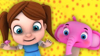 Where is Thumbkin | Kindergarten Nursery Rhymes For Toddlers | Cartoon Videos For Children's