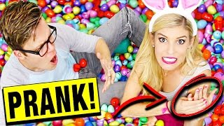 EXTREME EGG CHALLENGE PRANK! ( LOST WEDDING RING!!)