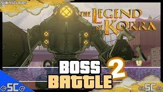 THE LEGEND OF KORRA | Chapter 4 (Part 5/5) - Mecha Tank Boss Battle 2 @ShikasClouds