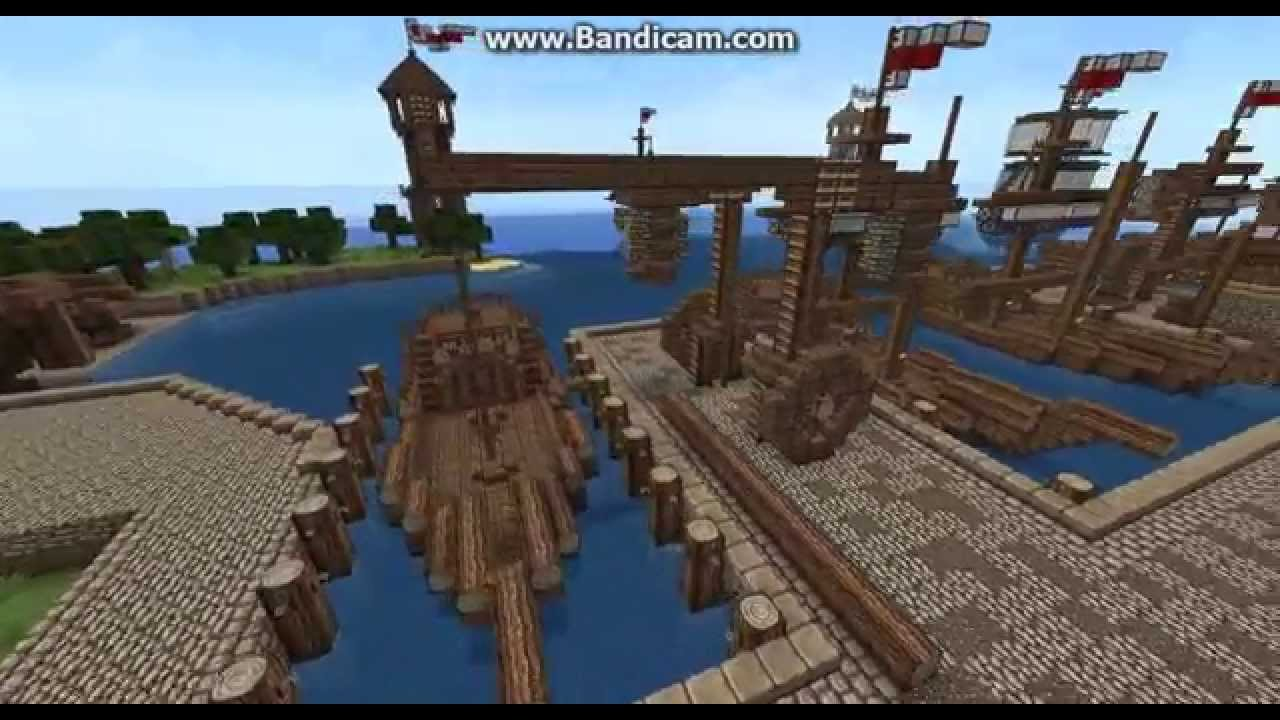How To Build A Medieval Ship In Minecraft