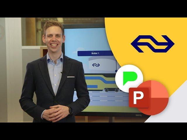 Deze PowerPoint revolutie moet je zien! | Slidebuilder voor NS | PPT Solutions