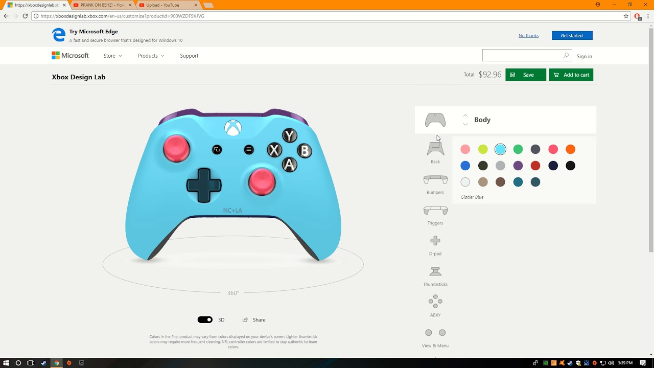 the Xbox one dream controller