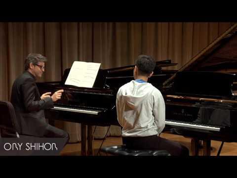 Piano Masterclass - Saint Seans Piano Concerto No  2 in G minor, Op  22