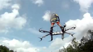 Дрон. Летающие люди - вот оно наше будущее. A Canadian has invented a hoverboard