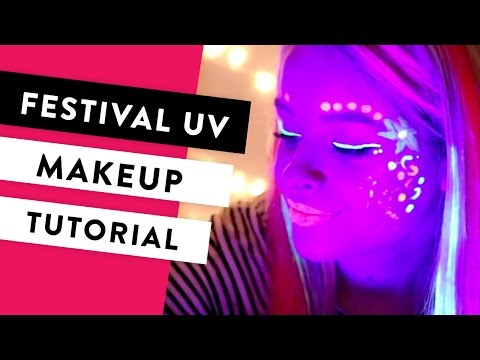 Festival Face Painting Tutorial