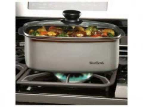 Ebay Sale!! West Bend 84905 5 Quart Oblong Shaped Slow Cooker