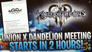 Kingdom Hearts Union X Event Starts in 2 Hours! Will Kingdom Hearts 3 Be There?