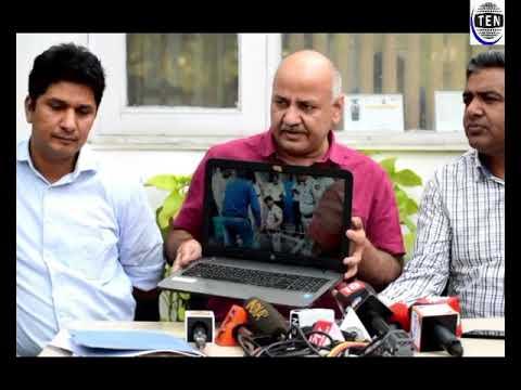 Manish Sisodia Deputy CM Delhi Briefs About Raid In KR Mangalam School Storing Diesel In Basement