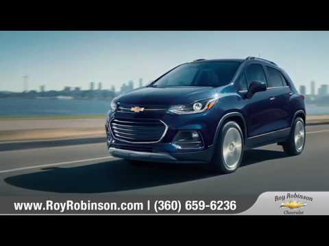 2018 Chevy Trax Walkaround Roy Robinson Chevrolet Youtube