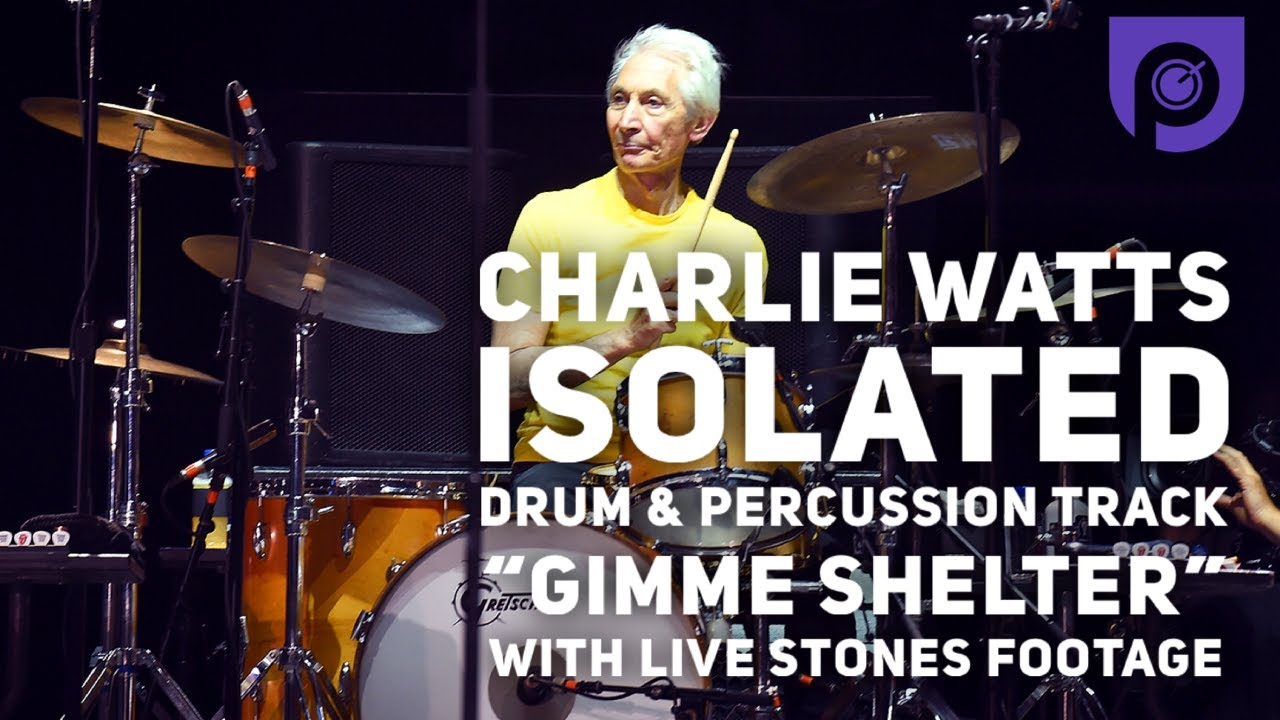 """Hear Charlie Watts Inimitable Isolated Drum Tracks on """"Gimme Shelter,"""" """"Beast of Burden,"""" and """"Honky Tonk"""""""