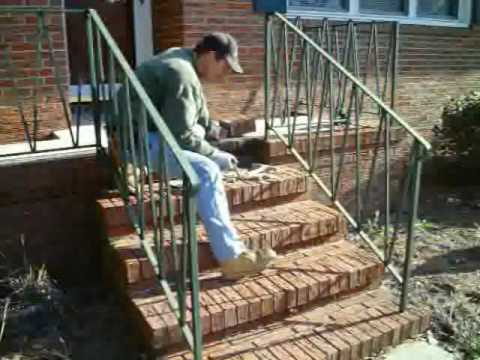 Brick Stoop Repair Youtube
