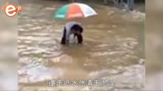 向你致敬 盡責校工入水氹清淤泥