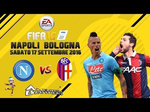 FIFA 16 Pronostico Napoli - Bologna 17/09/2016