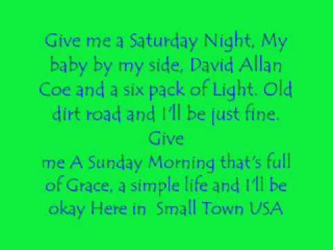 Small Town USA Lyrics