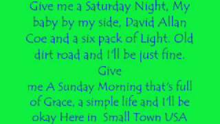 Small Town USA Lyrics