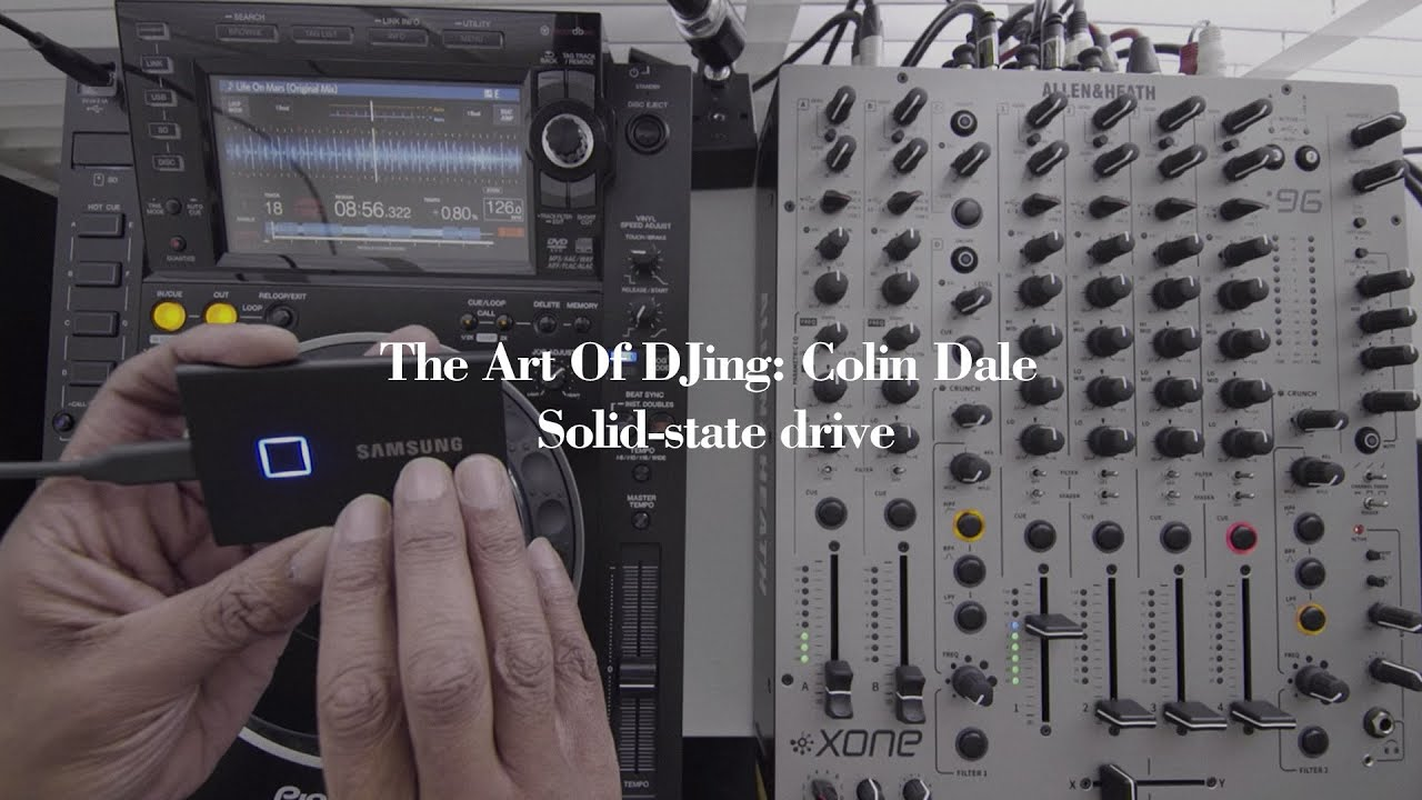 The Art Of DJing: Colin Dale - Solid-state drive