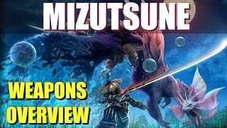 Monster Hunter Generations: Mizutsune (Tamamitsune) Weapons Overview
