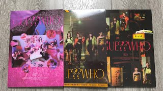 Download ♡Unboxing ITZY 있지 4th Mini Album GUESS WHO (Day, Night & Day&Night Ver.)♡