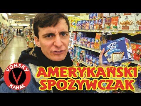 Amerykański SPOŻYWCZAK - Zakupy W USA