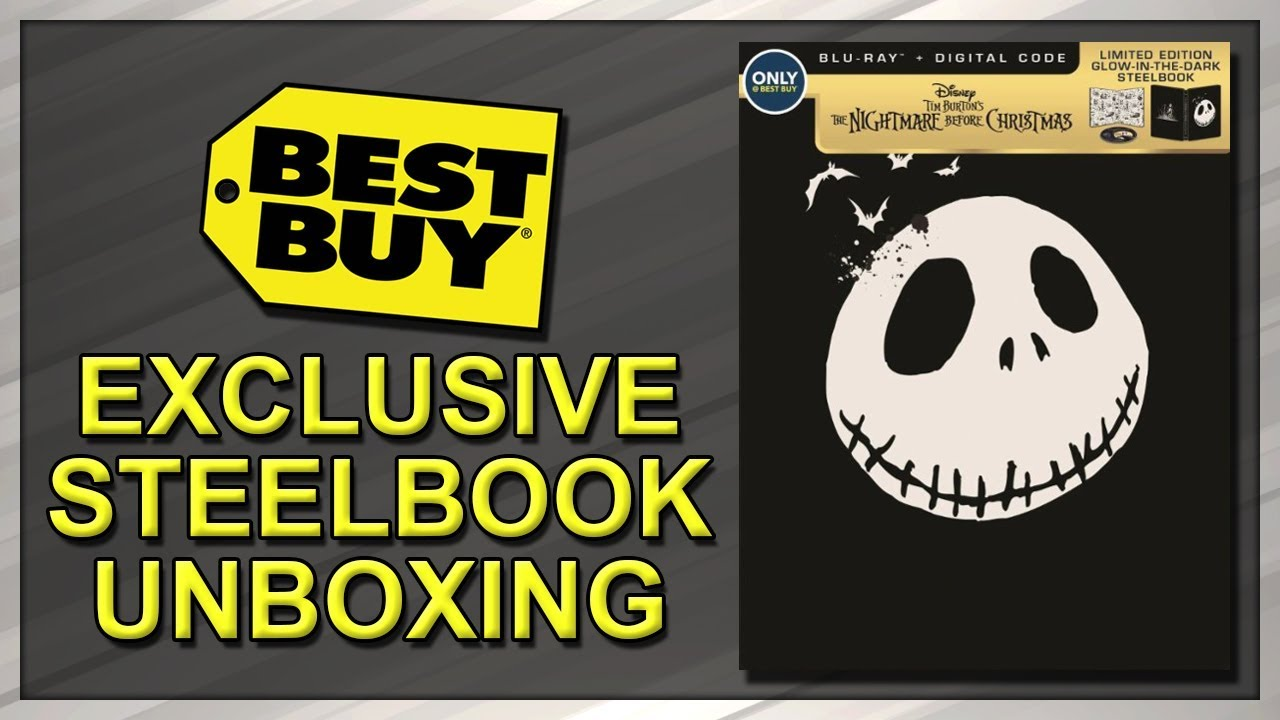the nightmare before christmas best buy exclusive 25th anniversary steelbook unboxing - Best Buy Christmas Hours