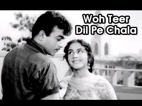Woh Teer Dil Pe Chala   Romantic Song   Mohammed Rafi & Asha Bhosle   Aarti (1962) Hindi Movie