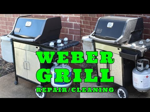 Weber grill repair/ cleaning