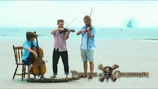 Pirates of the Caribbean Violin and Cello Medley Super Martin Bros