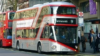 "Special ""Red+Silver"" Livery New Bus 4 London"