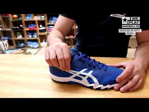 Review Handballschuhe 2017/18: asics GEL-BLADE 6 - YouTube