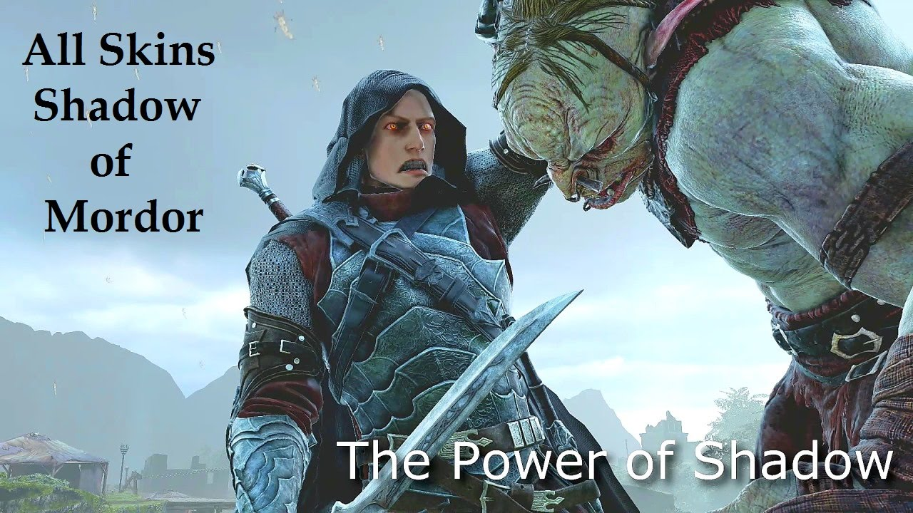 shadow of mordor skins