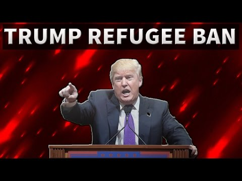 Refugee Ban - Donald Trump - 7 Muslim majority countries banned - UPSC/IAS/PSC