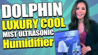 Homespa Dolphin Luxury Cool Mist Ultrasonic Humidifier by Dr Trust - for Home or office use