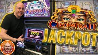 HIGH LIMIT! 🐪Cleopatra Multiplay & Cleopatra 2 JACKPOTS! 🐪BIG WIN$