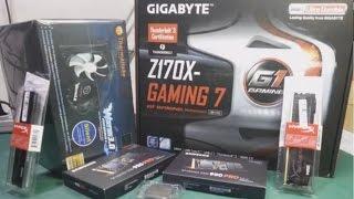 SIVI SOĞUTMA i7 6700K Z170X GAMING 7 950 PRO PC TOPLAMA