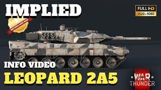 War Thunder - NEWS Video - der Leopard 2A5 und Clan Fahrzeuge