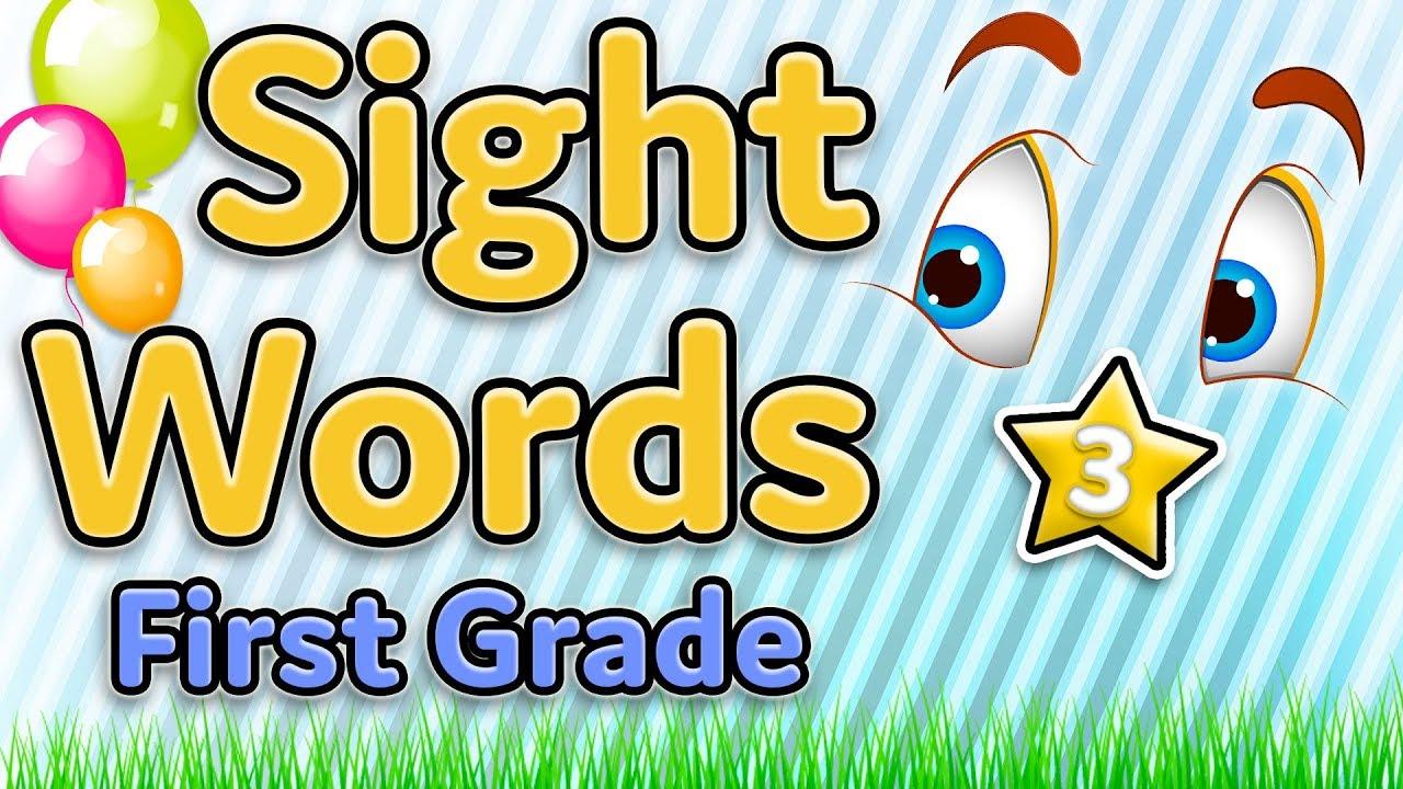 medium resolution of Dolch Sight Words First Grade worksheet