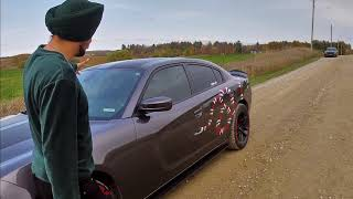 DODGE CHARGER VLOG | GUCCI WALA SAAP | DJI MINI | SPLITTER & SPOILER | WICKER-BILL | WIDEBODY RIMS