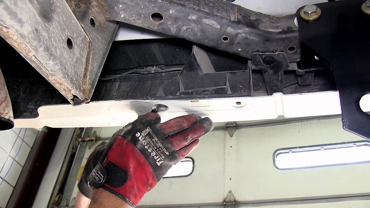 Installation of a trailer wiring harness on jeep