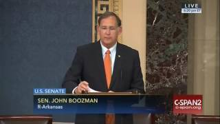 Sen. Boozman Speaks of the Importance of Arkansas's Rice Farmers During National Rice Month