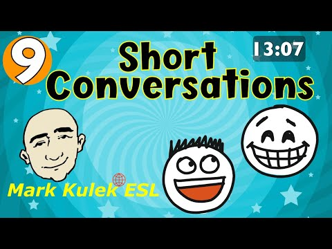 Short Conversations - first meeting, my day + much more | Mark Kulek - ESL