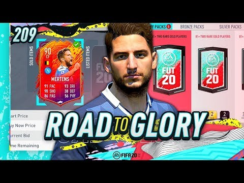 FIFA 20 ROAD TO GLORY #209 - TRYING MY LUCK!