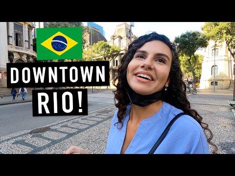 DISCOVER RIO DE JANEIRO 🇧🇷 DOWNTOWN RIO IS UNDERRATED! (TRAVEL BRAZIL)