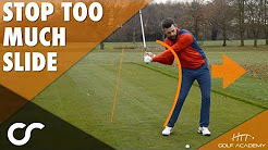 HOW TO STOP SLIDING IN THE DOWNSWING