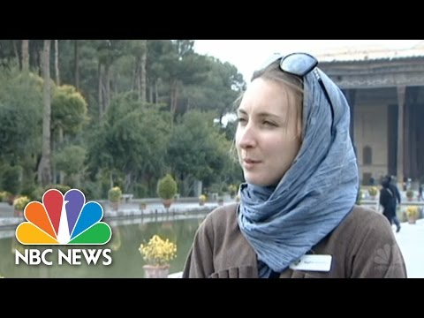 Americans Vacationing In Iran | NBC News